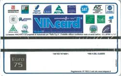 VIA-Card (I) Wert 75 Euro - Italien