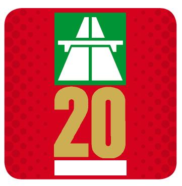 Jahres-Vignette 2020 - Schweiz